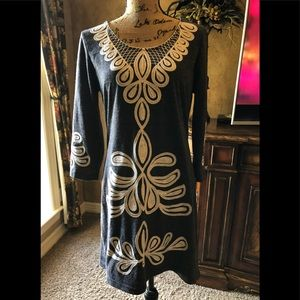 Like New Young Threads Women Sweater Dress L
